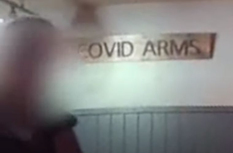 Watch: Police raid West Midlands garage after setting up 'The Covid Arms' pub in workshop