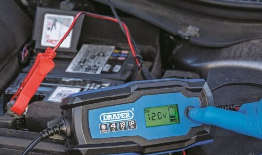 Draper Tools launches smart battery charger and maintainer range
