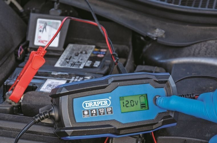 Draper smart battery charger and maintainers