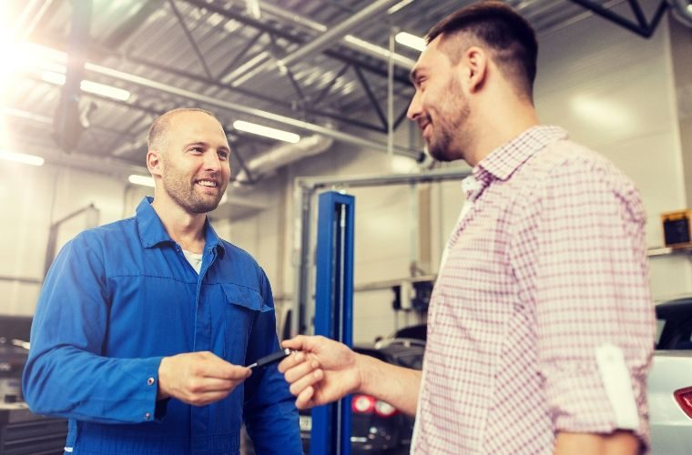 Free customer service guidance and advice for garages