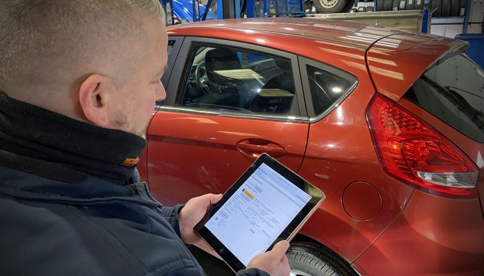 TechMan puts valuable vehicle data into the hands of technicians