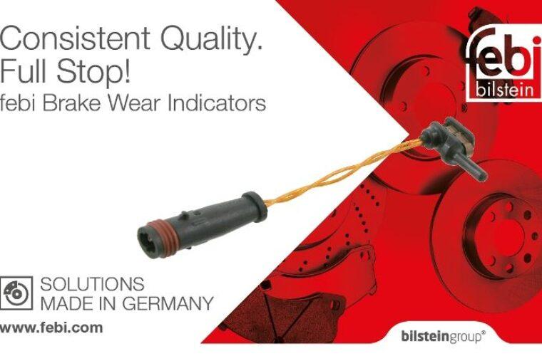 Febi brake wear indicators