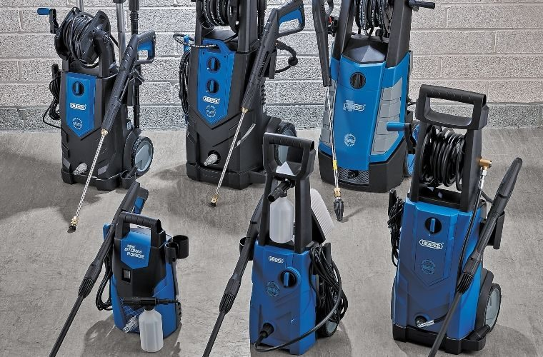 New Draper Tools pressure washer range