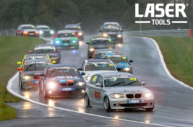 Laser Tools announces new partnership with 750 Motor Club's BMW 116 Trophy series