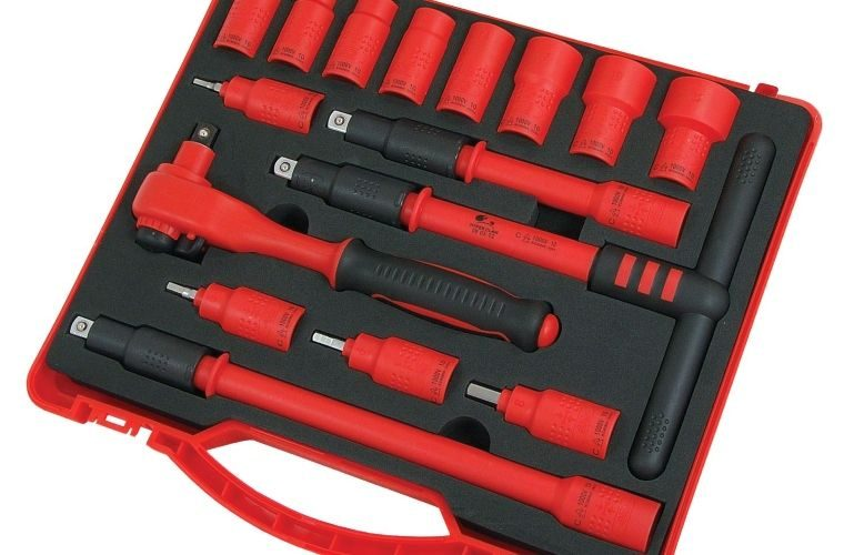Insulated 16pc 3/8″ socket set from Prosol