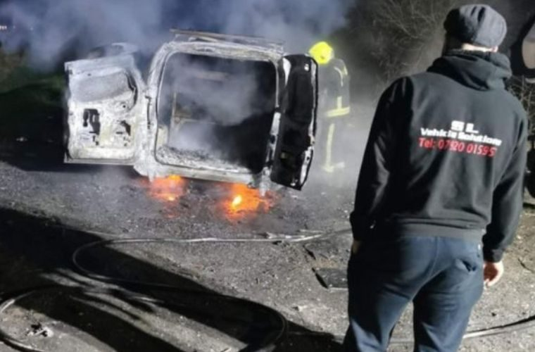 Stranger launches fund appeal for mobile mechanic after van was stolen and set alight