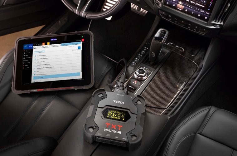 New top of the range vehicle interface by TEXA