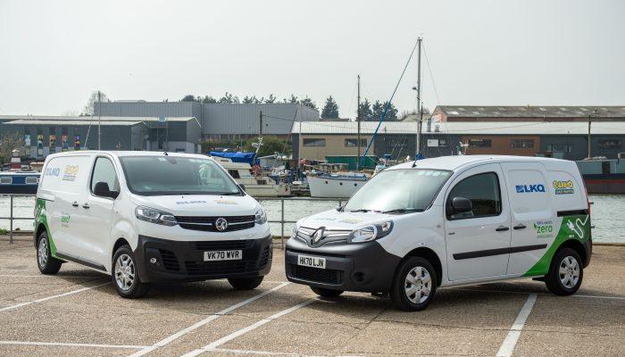 Euro Car Parts trials EV delivery vans