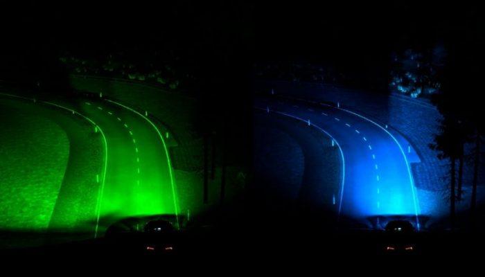 Ford unveils 'predictive smart headlight' technology
