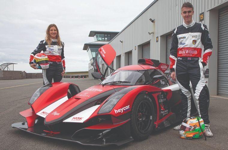 Charlie Martin to race NGK-themed race car
