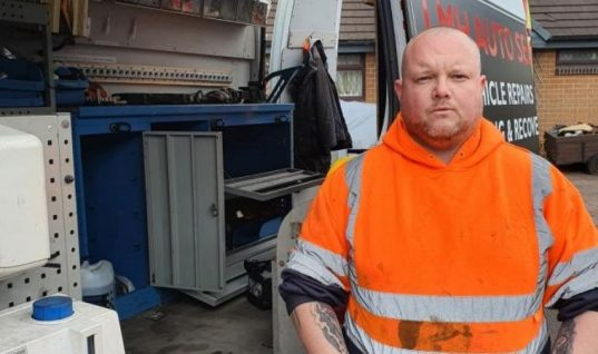 Mobile mechanic 'soul destroyed' after thieves stole £20,000 worth of tools from van