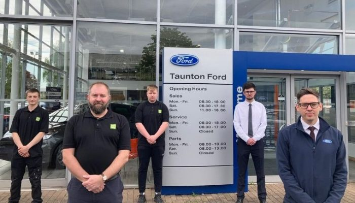 Autotech Academy and Ford Motor Company create work experience solution for fire damaged college