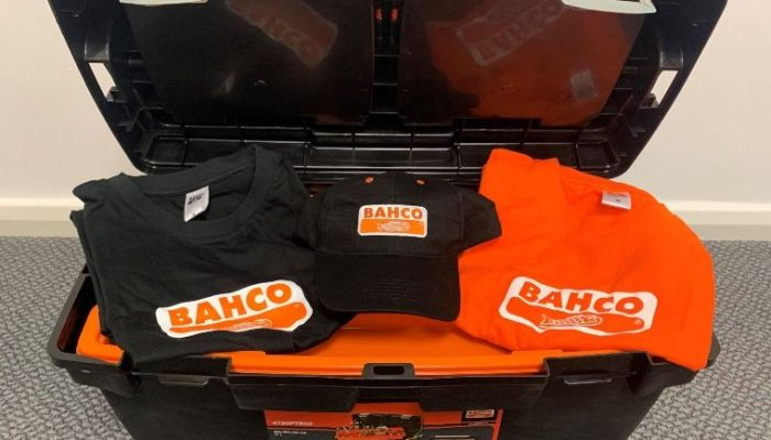 Prize draw: Bahco toolbox, t-shirts and cap