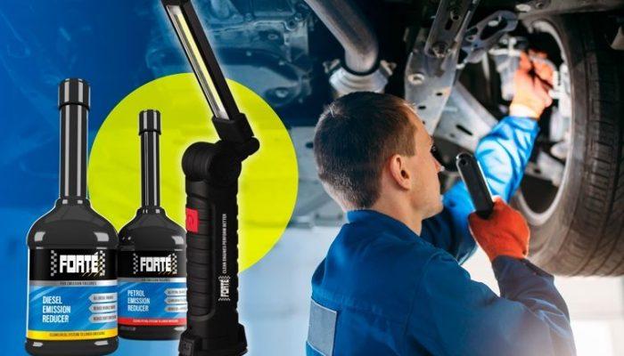 Free Forte workshop torch
