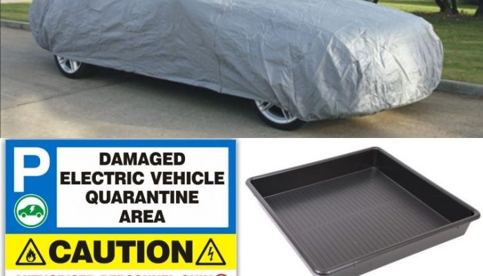 Electric and hybrid vehicle 'quarantine area' equipment