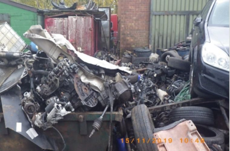 Garage owner told to clear scrap or face jail