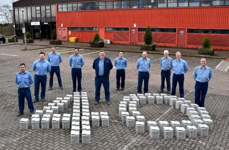 GS Yuasa celebrates 40 years of battery production in South Wales