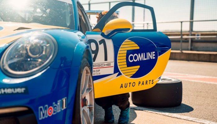 Comline sponsors Richardson Racing and Will Bratt for Porsche Carrera Cup GB 2021