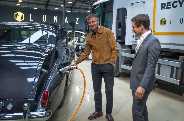 David Beckham invests in UK vehicle electrification company