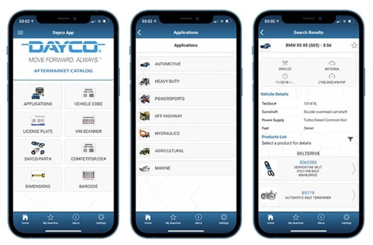 Dayco releases mobile catalog app update