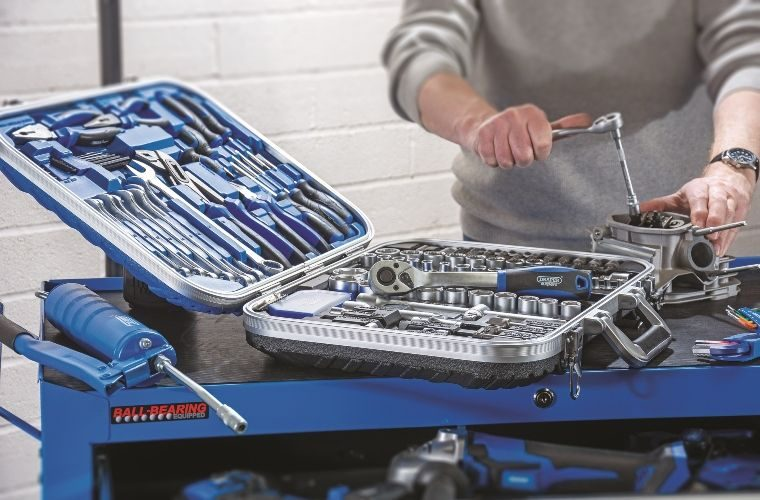 Draper Tools launches its 'ultimate' Expert 127 piece tool kit