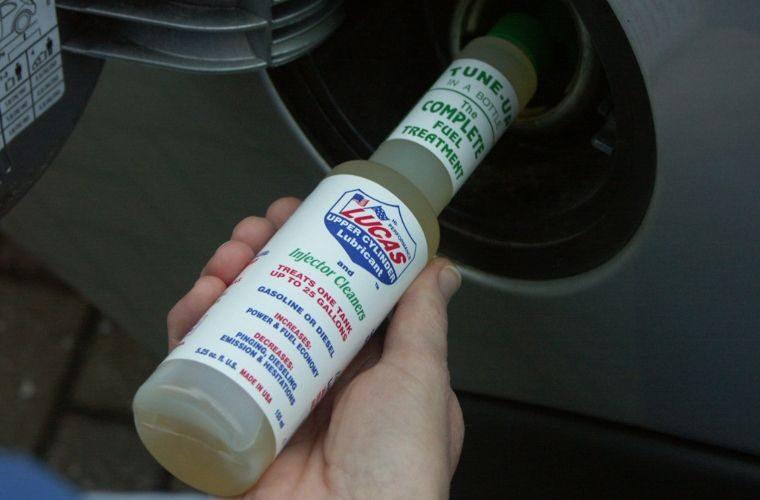 Lucas Oil 'dual fuel fix' promotion