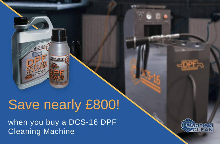 Carbon Clean DPF cleaning machine discount code