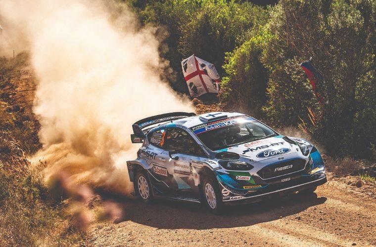 M-Sport Ford drivers fight hard in Sardinia