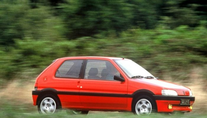 Peugeot 106 is 30 years old this year