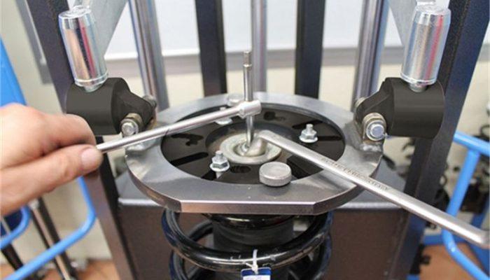 Upper bracket for Sykes-Pickavant spring compressor