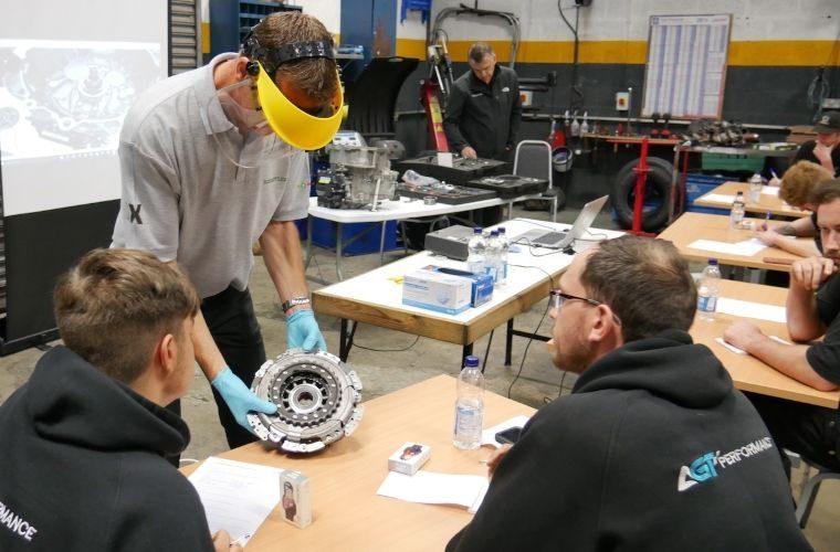 Schaeffler makes return to face-to-face training