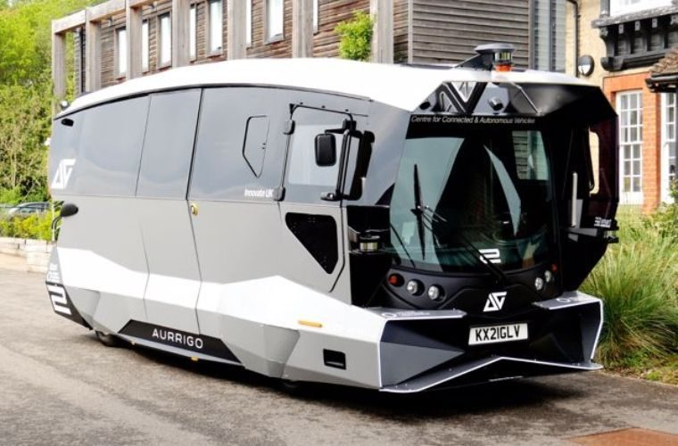 UK's first self-driving bus takes to Cambridge roads