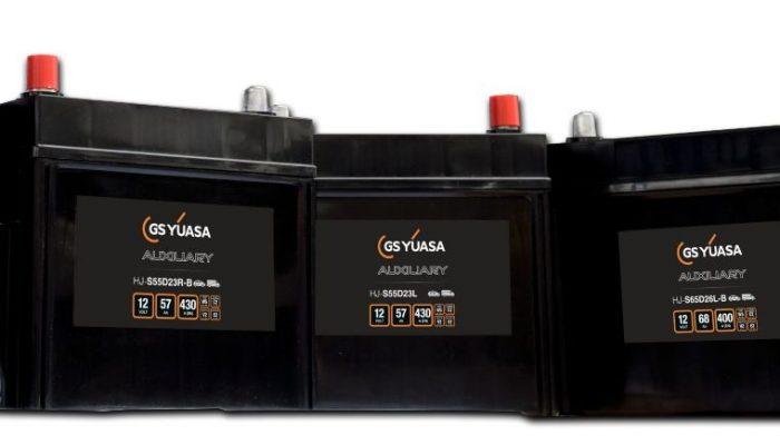Expanded new GS Yuasa automotive auxiliary battery range revealed