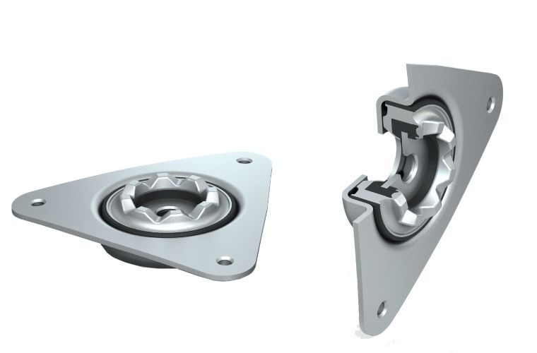 Bearings included with strut mounts, Corteco confirms