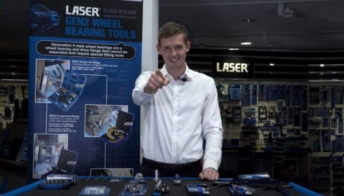 Laser Tools releases new 'stay connected' video