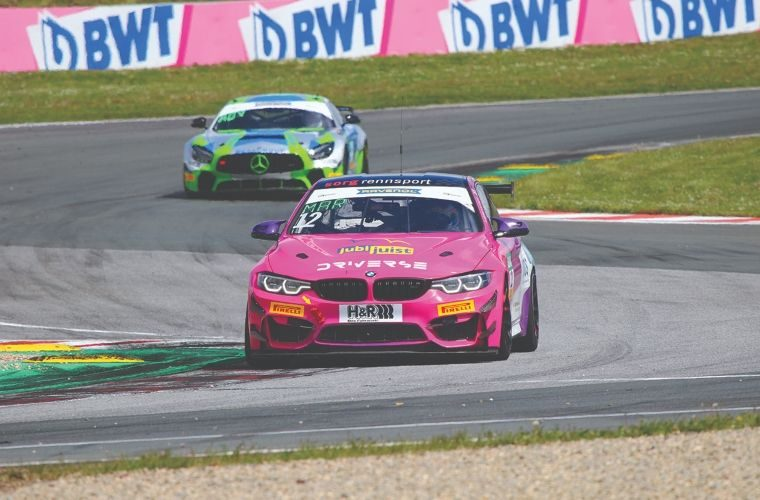 NGK sponsored driver ready for ADAC GT4 Germany championship third round