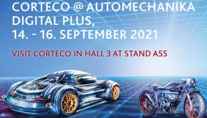 Corteco invitation to Automechanika Digital Plus