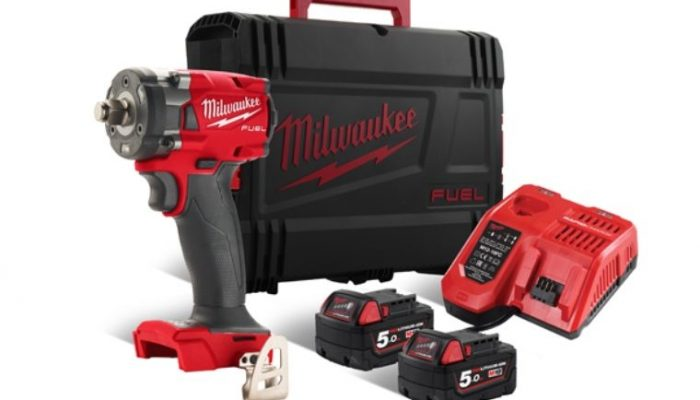 Get 10 per cent off Milwaukee compact impact wrench
