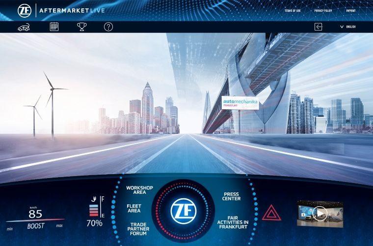 Automechanika Frankfurt to host ZF Aftermarket Live
