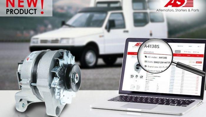 AS-PL releases new-to-range alternator
