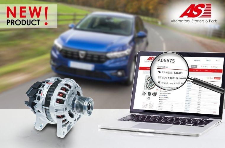AS-PL announces new-to-range alternator