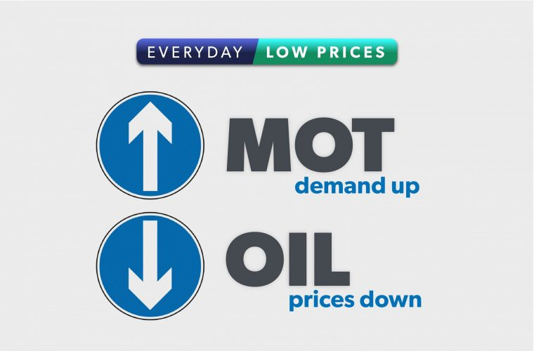 TPS 'Everyday Low Prices' oil offer
