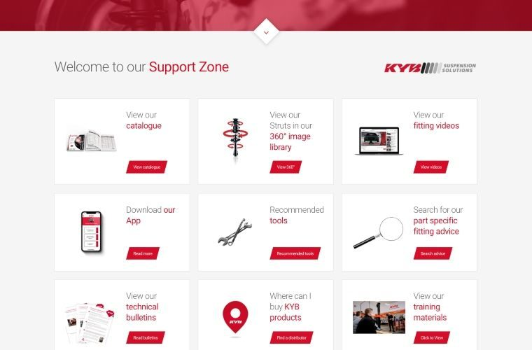 KYB expands online garage support