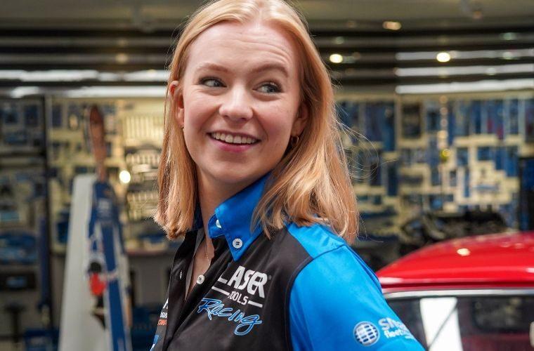 Laser Tools Racing supports Logan Hannah at Oulton Park