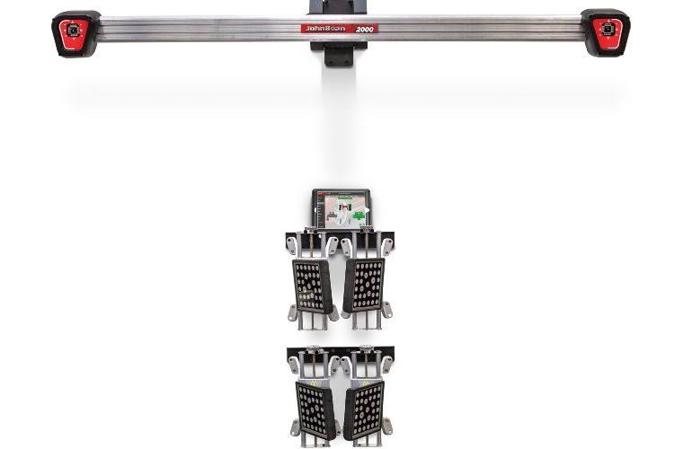 Snap-on launches new V2000 3D wheel aligner