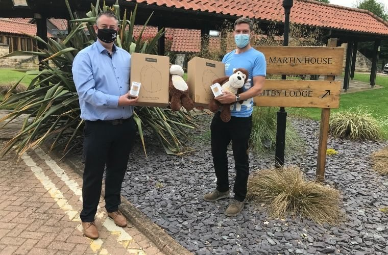 TMD Friction donates branded goodies to Martin House Hospice