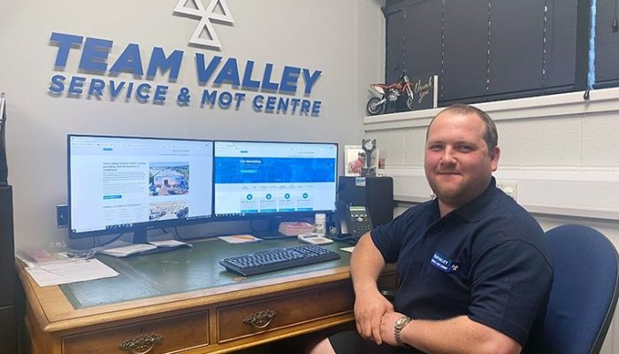 Unprecedented growth for North East garage following new website launch