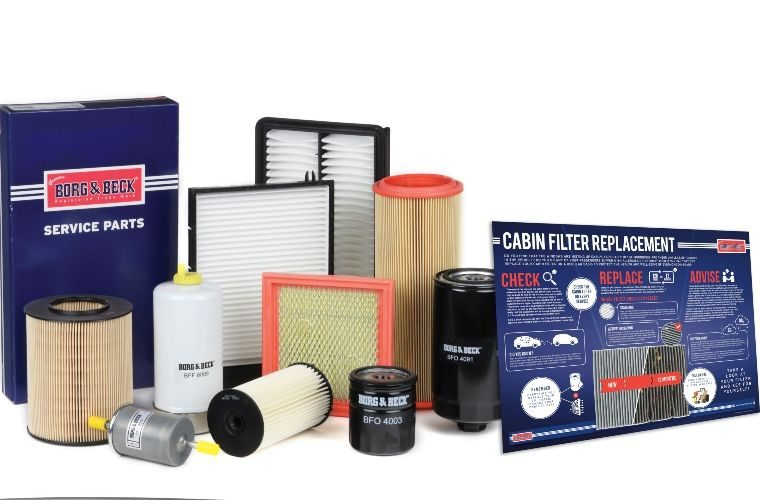 Free cabin filter replacement poster