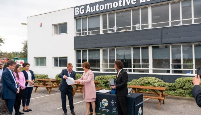 BG Automotive worldwide success recognised by HM The Queen