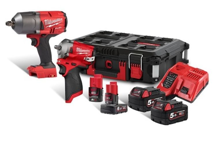 10% off Milwaukee High Torque and stubby impact wrench